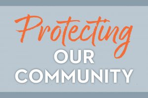 Protecting Our Community COVID reopening